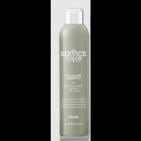 No Yellow Silver shampoo, Nook Origin, silver hår, kold farve